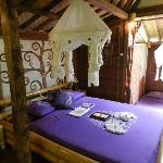 "Main room in traditional Javanese bungalow ""Komang"""