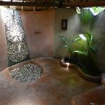"Bathroom of traditional Javanese bungalow ""Komang"""