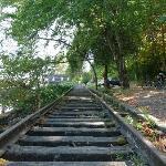Disused railway line near Fremont Bridge.