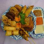 Thai Rice Platter for 2