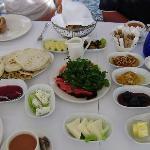 turkish breakfast in Oceans restaurant