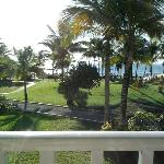 View of grounds and beach from harmony wing room, 2nd floor