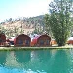 More cabins at the Rio - gorgeous views