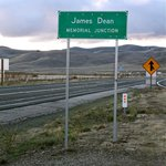 James Dean Memorial Junction-Photo by Frank Alli