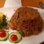 Thai fried rice ordered tonight