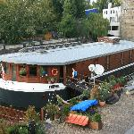 Boat Hotel in Prague