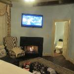 Room 251 - Junior Suite with Fireplace!