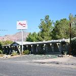 Atomic Inn from the front