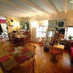 Inside the Wren's Nest Coffee House