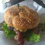 Huge gluten free burger