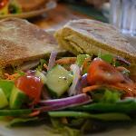 Ciabatta with Salad