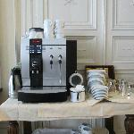 Nifty coffee machine