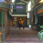 Harrah's walkway from Hotel to Casino
