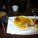 Coffee and Creme Brulee