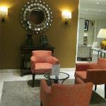 Hotel lobby seating lounge