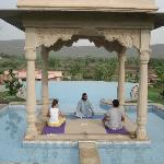 Yoga & Meditation at the Infinity Pool