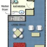 1 Bedroom Apartment - Floor Plan