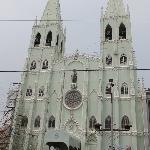 San Sebastian Church facade