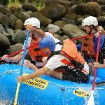 Rafting in