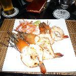 海鮮料理のディナー
