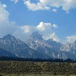 Teton range view from LSR Preserve