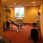 small fitness center