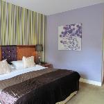 Deluxe room- Bed