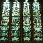 Binton聖ペテロ教会のスコット遠征隊メモリアルステンドグラス