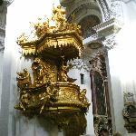 Interni della cattedrale di Santo Stefano a Passau