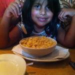 Mac and cheese para mi niña!