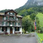 OUTSIDE VIEW OF ALPENHOF BED & BREAKFAST HOTEL IN SEPTEMBER 2012.