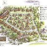La piantina della struttura