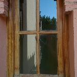 Wooden windows wear and tear
