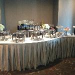 Beautiful Champagne Brunch set up