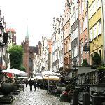 Gdansk's prettiest street, behind St Mary's church