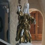 Statue in Foyer