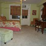 Basement suite bedroom