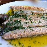The special mill trout!!! Delicious!!