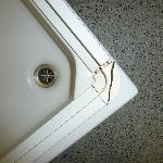 defekte Dusche