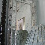 decorative mirror in room