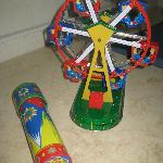 a miny Santa Monica ferris wheel