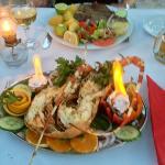 lobster & T Bone steak