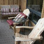 Enclosesd balcony in queen double suite