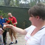 Me with a lorikeet