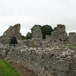 Nearby Kells Priory ruins
