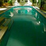 Indoor pool (late evening view)