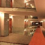 Visão da arquitetura do hotel
