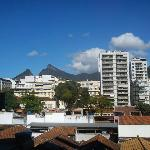 Vista da ala frontal