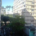 Largo do Machado visto do quarto