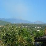 View of Etna from terrace